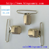 ベルトの締める物のバックル/金属の調節装置の調節可能なクリップ・ファスナのサスペンダークリップ