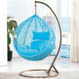 لون قرنفل مصنع أرجوحة خارجيّ, [رتّن] أثاث لازم, بيضة داخليّ يعلّب كرسي تثبيت ([د011])