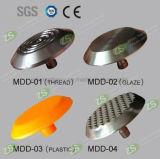 Espárragos táctiles decorativos del acero inoxidable del indicador
