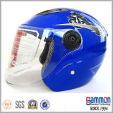 스쿠터 또는 모터바이크 또는 기관자전차 숙녀 (OP203가)를 위한 열리는 마스크 헬멧