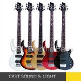 5 guitare basse électrique de couleur de la chaîne de caractères cinq (CSL-E101)