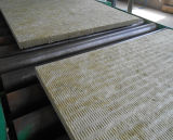 Isolação do cobertor de lãs de rocha, cobertor de Rockwool com engranzamento de fio