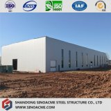 Construction en acier de structure d'armature pour l'entrepôt élevé