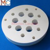 Disco cerâmico refratário de alta temperatura industrial da alumina 99.7%