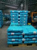 Rolo azul de encerado do PE de China, encerado Finished da alta qualidade para a coberta