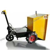 Mini dumper électrique pour des chantiers de construction