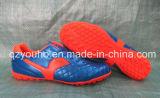 Голубые ботинки людей футбола футбола для оптовой продажи