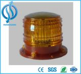 Veículo impermeável solar solar da luz de baliza do diodo emissor de luz que revolve/luz de advertência giratória