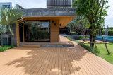 Decking ao ar livre do projeto WPC da casa de campo da alta qualidade