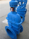 Mano Wheel Gate Valve con Resilient Seat