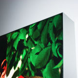 壁に取り付けられた広告の表示ファブリックLEDライトボックス