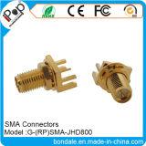 Connecteurs du connecteur coaxial rf SMA Jhd800 pour SMA