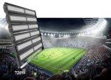 120W IP65 luzes de inundação ao ar livre do diodo emissor de luz do poder superior do estádio de 15 graus