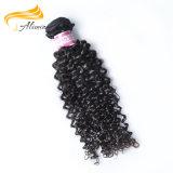 Уток выдвижения волос девственницы Remy человека волос 100 Alimina