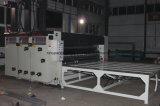 波形にカートンボックス印刷の細長い穴がつくことはダイカッタ機械を