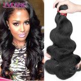 La armadura del pelo humano de la venta al por mayor el 100% lía el pelo sin procesar del brasilen@o de la Virgen