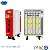 10bar 무열 재생하는 흡착 건조시키는 산업 공기 건조기 (5% 소거 공기, 20.6m3/min)