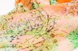 Lenço longo de seda bonito da forma 100% para a senhora