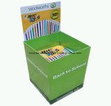 スーパーマーケットのCurrogatedのボール紙パレットラックか表示を広告するボール紙パレット