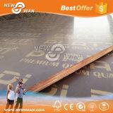 la película de 1220X2440m m Brown hizo frente a la madera contrachapada (la madera contrachapada de la construcción)