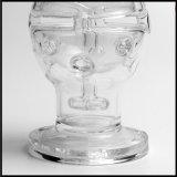 Tubo di acqua di vetro in uovo di vetro di Faberge della nave appoggio in superficie di riserva