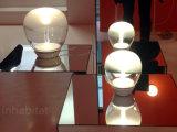Lâmpada de tabela moderna simples da esfera de vidro do diodo emissor de luz para o hotel