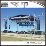 Sistema de aluminio al aire libre portable de calidad superior del braguero para el concierto