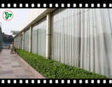 Vidro temperado quadrado e redondo para construção