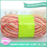 Tt Weave Hand Knitting Fancy Rainbow geverfd acryl Simi Thin-Dik Yarn (T104)