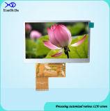 4.3 Zoll LCD-Bildschirm mit Helligkeit 450 CD/M2