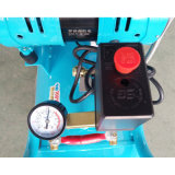 2X500W 50Lの低雑音オイルの自由な歯科携帯用空気圧縮機