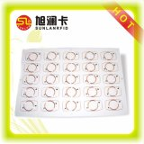 Carte RFID en plastique Feuille d'incrustation PVC pour FM1108 Carte à puce compatible Mf