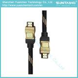Cable HDMI de alta velocidad Color metálico de doble color para TV / Ordenador / HDTV