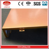 Panneaux de mur durables enduits de l'or PVDF pour les constructions commerciales