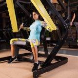 連続した適性のスパンデックスのTeamsportsのトレーニングの圧縮の堅い体操のスポーツ・ウェア