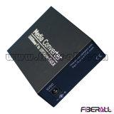 Manutenção programada ótica 60km do External 1.25g LC do conversor dos media do SFP do gigabit