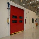 Автоматическая промышленная быстрая дверь штарки ролика волокна PVC