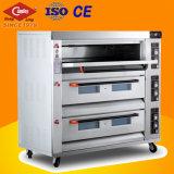 Forno commerciale professionale di cottura del pane con 9 cassetti