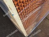 Garniture agricole de refroidissement par évaporation de système de ventilation