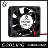 Certificação refrigerando de D6025 UL&Ce 24 ventiladores de refrigeração da C.C. do volt