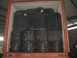 Fahrgestell des Kubota Exkavator-Kx71 zerteilt Gummispur