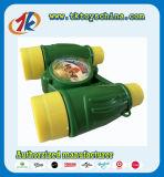 Kind-buntes Plastikminiteleskop spielt Binokel für Verkauf