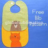 개인화된 아기 수도꼭지 주문 아기 담요 및 제작된 백색 아기 수도꼭지