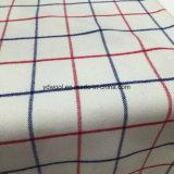 De rode & Blauwe Stof van de Wol van de Controle voor Overjas