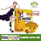 건강하고 안전한 결장 Detox 체중을 줄이기를 위한 아프리카 망고 효소