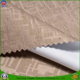Materia textil de lino franco impermeable del hogar de la tela de la cortina del apagón del poliester que se reúne la tela tejida para el sofá