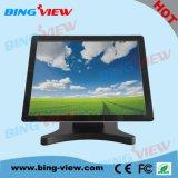 """15"""" Пункт экрана монитора касания сбываний прожективного емкостного Desktop с USB/RS232"""