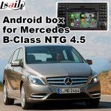 ベンツBのクラス(NTG-4.5)のための人間の特徴をもつGPSの運行ビデオインターフェイス