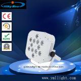 LED a pile senza fili all'ingrosso Uplights/12 *6 in 1 controllo astuto del telefono del cambiamento di colore del LED