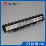 12/24V 126W 표시등 막대 20 인치 두 배 줄 LED 차 4X4